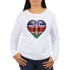 Kenya Heart T-Shirt