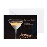 Chocolate Martini Greeting Cards (Pk of 10)