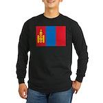 Mongolia Long Sleeve Dark T-Shirt