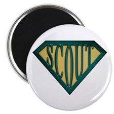 SuperScout(Tan) Magnet