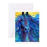 Arabian Horse #3  Greeting Cards (Pk of 10)