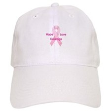 Hope Love Courage Baseball Cap