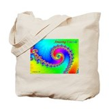 Amazing Fractals Tote Bag