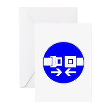 Seatbelt Greeting Cards (Pk of 20)