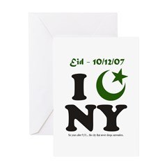 Eid - New York City Greeting Card