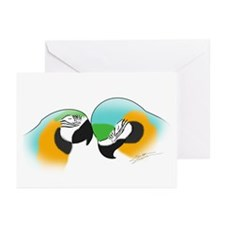 Art B&G Macaw Greeting Cards (Pk of 10)