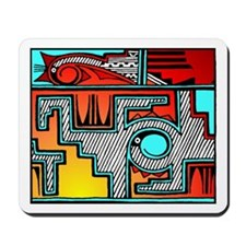 Pueblo Home Mousepad