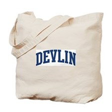 DEVLIN design (blue) Tote Bag