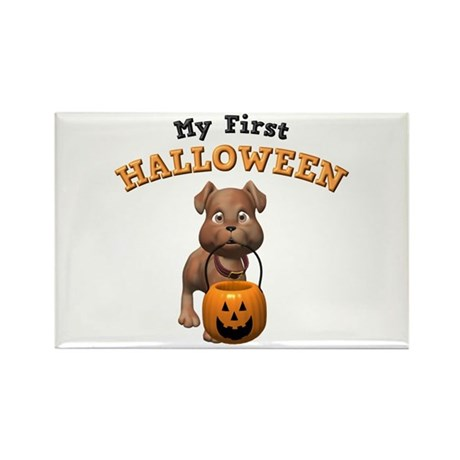 My First Halloween Rectangle Magnet