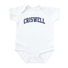 CRISWELL design (blue) Infant Bodysuit