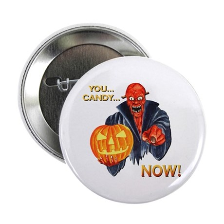 Scary Halloween Demon Button
