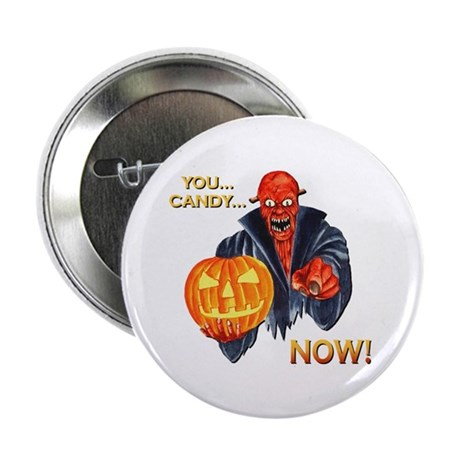 "Scary Halloween Demon 2.25"" Button (100 pack)"