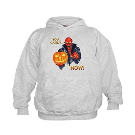Scary Halloween Demon Kids Hoodie