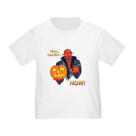 Scary Halloween Demon Toddler T-Shirt