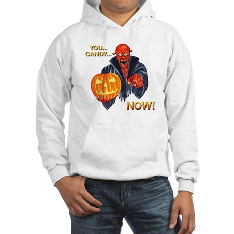 Scary Halloween Demon Hooded Sweatshirt