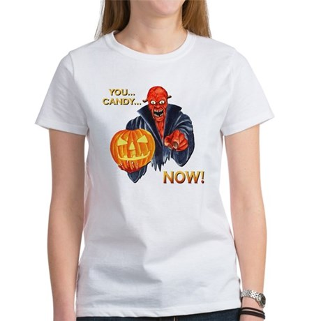 Scary Halloween Demon Women's T-Shirt