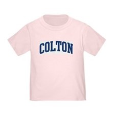 COLTON design (blue) T