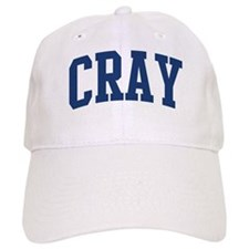 CRAY design (blue) Baseball Cap