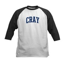 CRAY design (blue) Tee