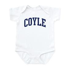 COYLE design (blue) Infant Bodysuit