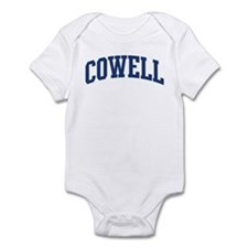 COWELL design (blue) Infant Bodysuit