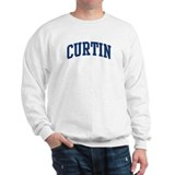 CURTIN design (blue) Jumper