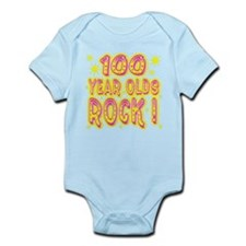 100 Year Olds Rock ! Infant Bodysuit