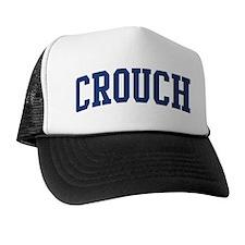 CROUCH design (blue) Trucker Hat
