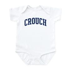 CROUCH design (blue) Infant Bodysuit