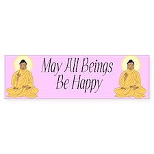 Buddhist Bumper Bumper Sticker
