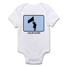Color Guard (BLUE) Infant Bodysuit