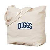 DIGGS design (blue) Tote Bag