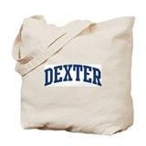 DEXTER design (blue) Tote Bag