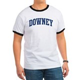 DOWNEY design (blue) T