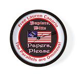 Free Lauren-2 Wall Clock