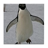 Adelie Penguin Tile Coaster