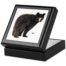 Black Bear Keepsake Box