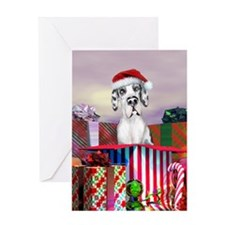 Harle UC Dane Claus Greeting Card