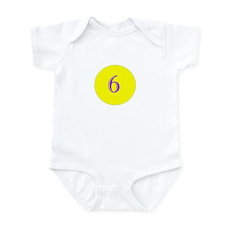 6 months old Infant Bodysuit