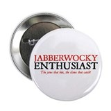 Jabberwocky Enthusiast Button