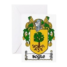 Boyle Coat of Arms Greeting Cards (Pk of 20)