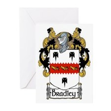 Bradley Coat of Arms Greeting Cards (Pk of 20)