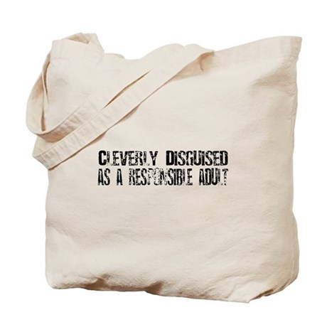 Responsible Adult Tote Bag