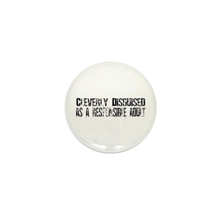 Responsible Adult Mini Button (100 pack)
