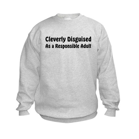 Cleverly Disguised Kids Sweatshirt