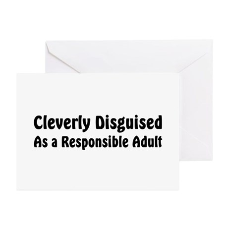 Cleverly Disguised Greeting Cards (Pk of 10)