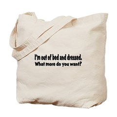 What More? Tote Bag