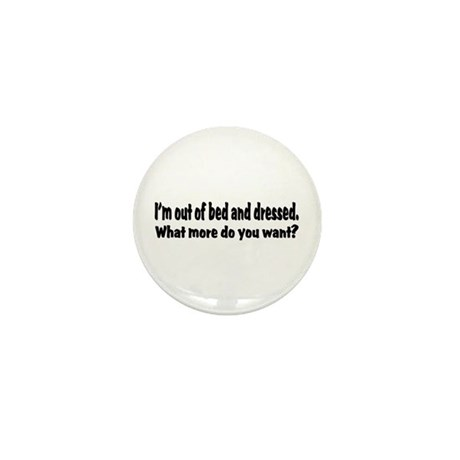 What More? Mini Button (10 pack)