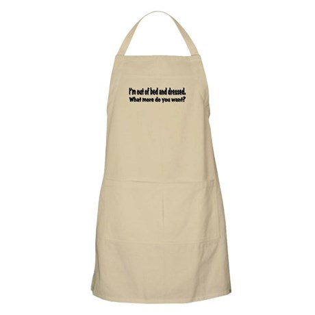 What More? BBQ Apron