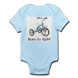 Born to Ride Tricycle Onesie